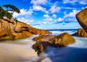 Trauminsel La Digue, Seychellen Trauminseln