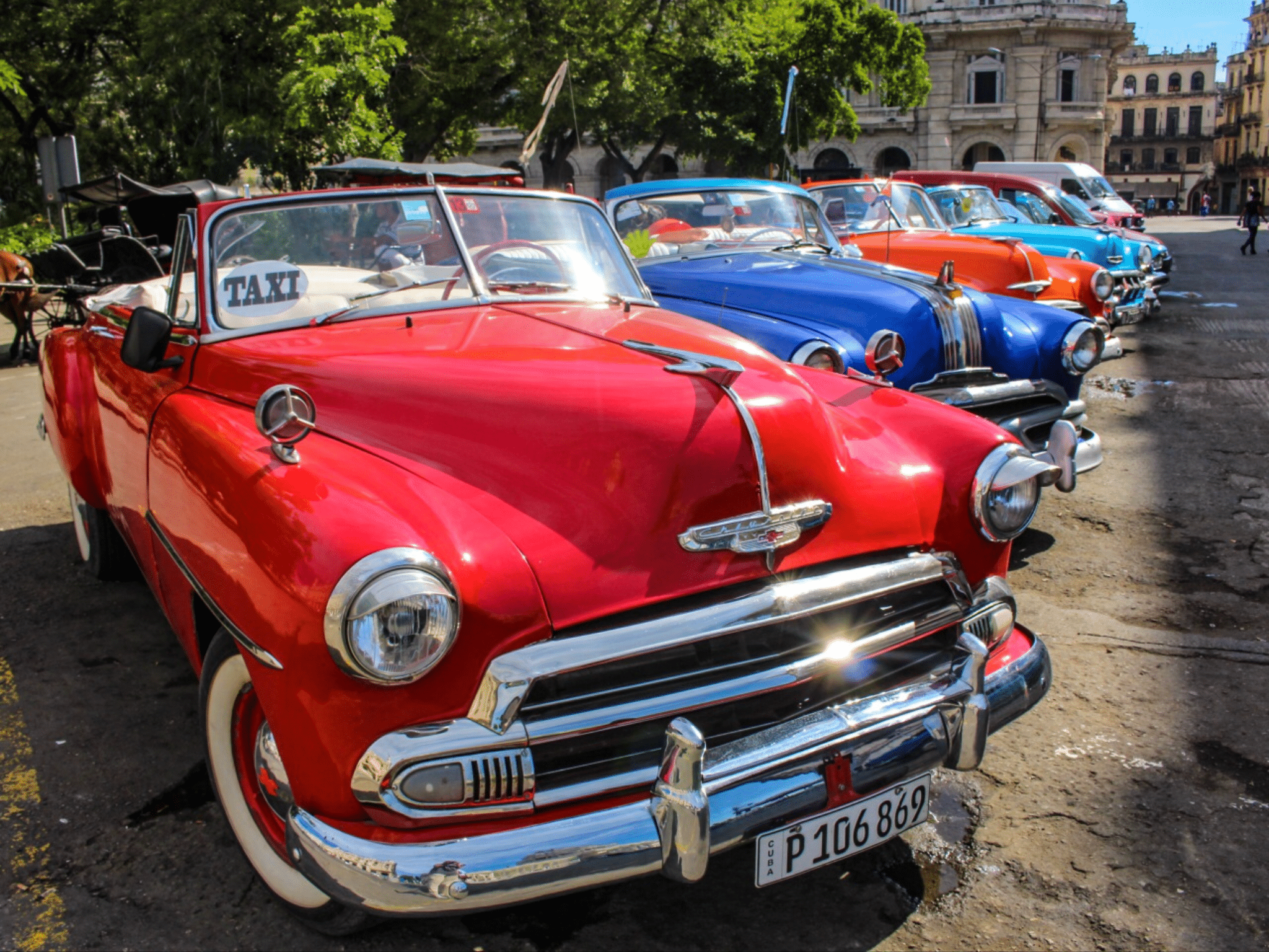 Oldtimer in Havanna - Traumurlaub Kuba - Urlaubsengel Reisebüro Weinheim