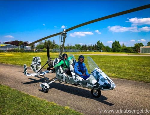 Gyrocopter – ein echtes Open-air Abenteuer!