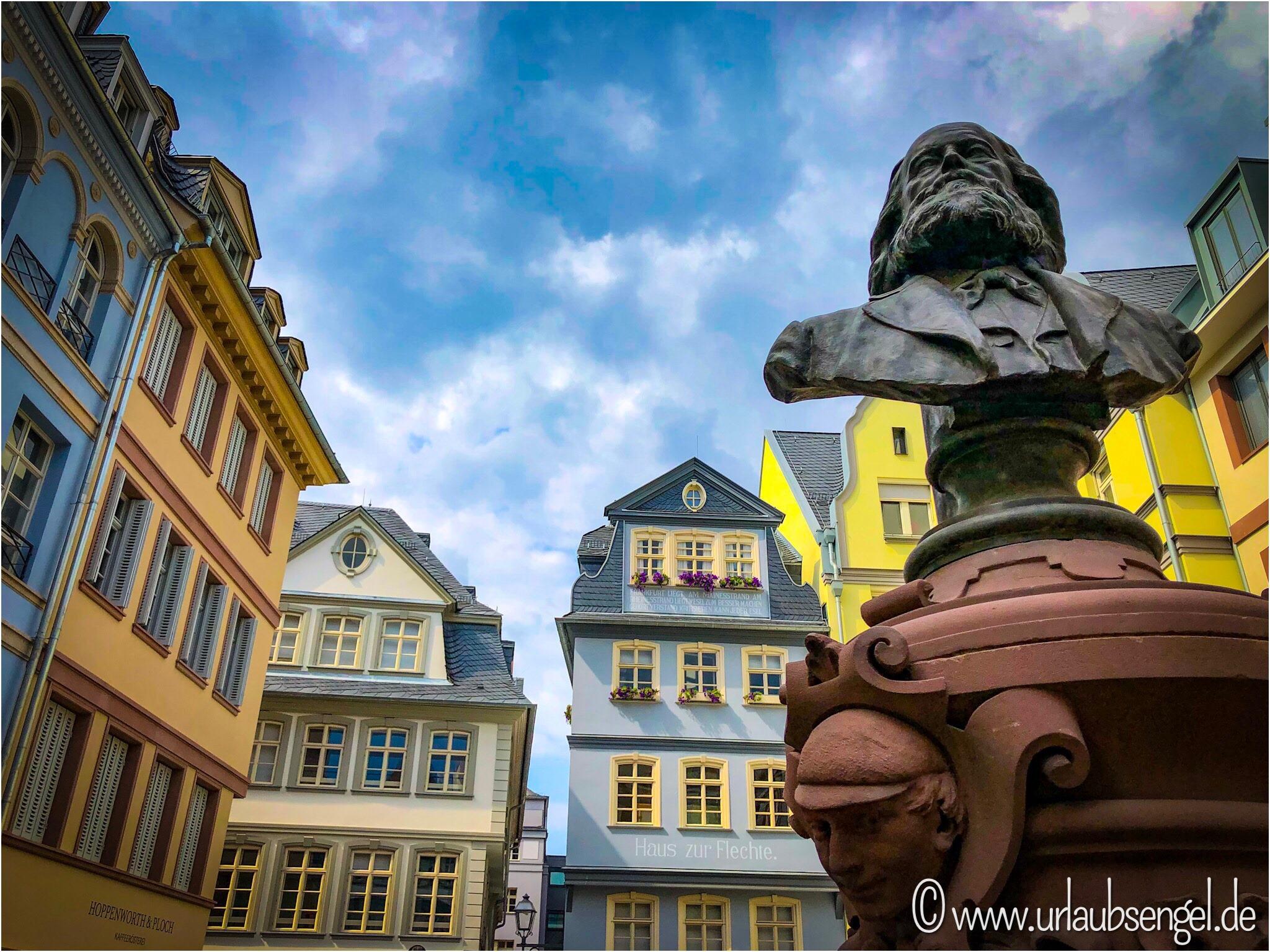 Marx-Statue, Frankfurt neue Altstadt