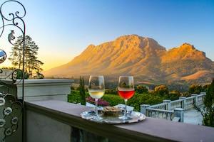 Blick auf den Simonsberg - Traumreisen Südafrika