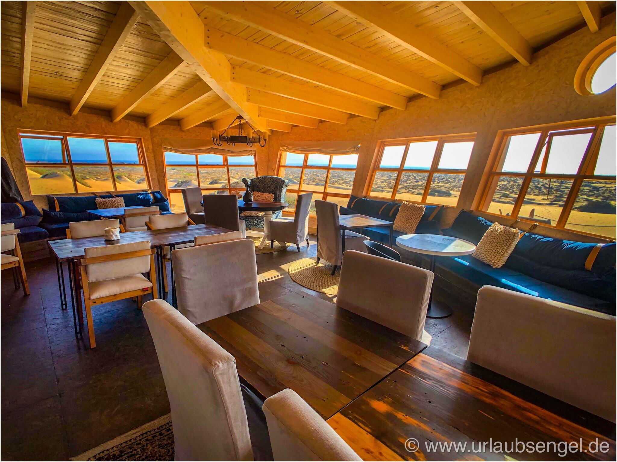 Restaurant der Shipwreck-Lodge, Namibia, Skelettküste