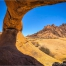 Felsbogen, Rock Arch bei der Spitzkoppe