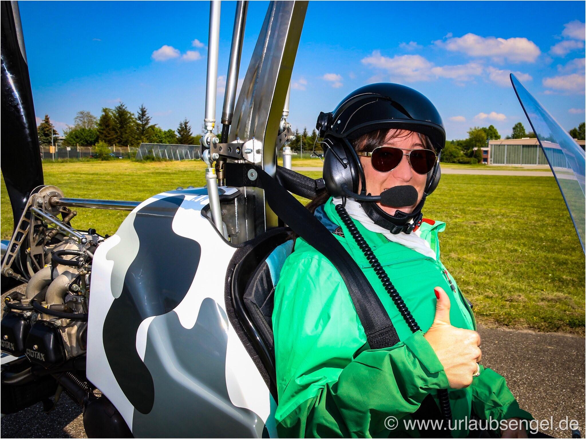 Flugplatz Speyer Gyrocopter