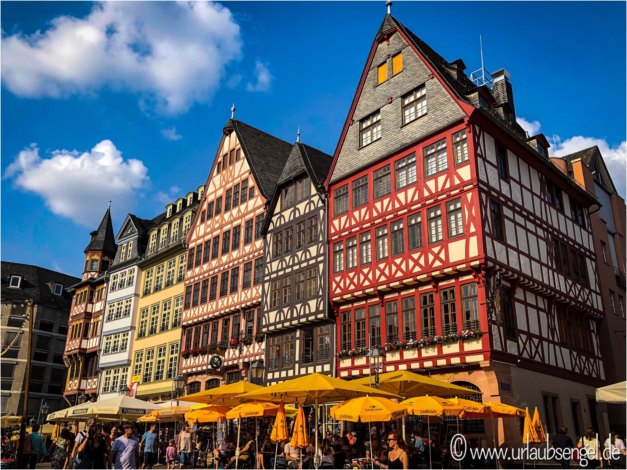Frankfurt neue Altstadt, Fachwerkhäuser