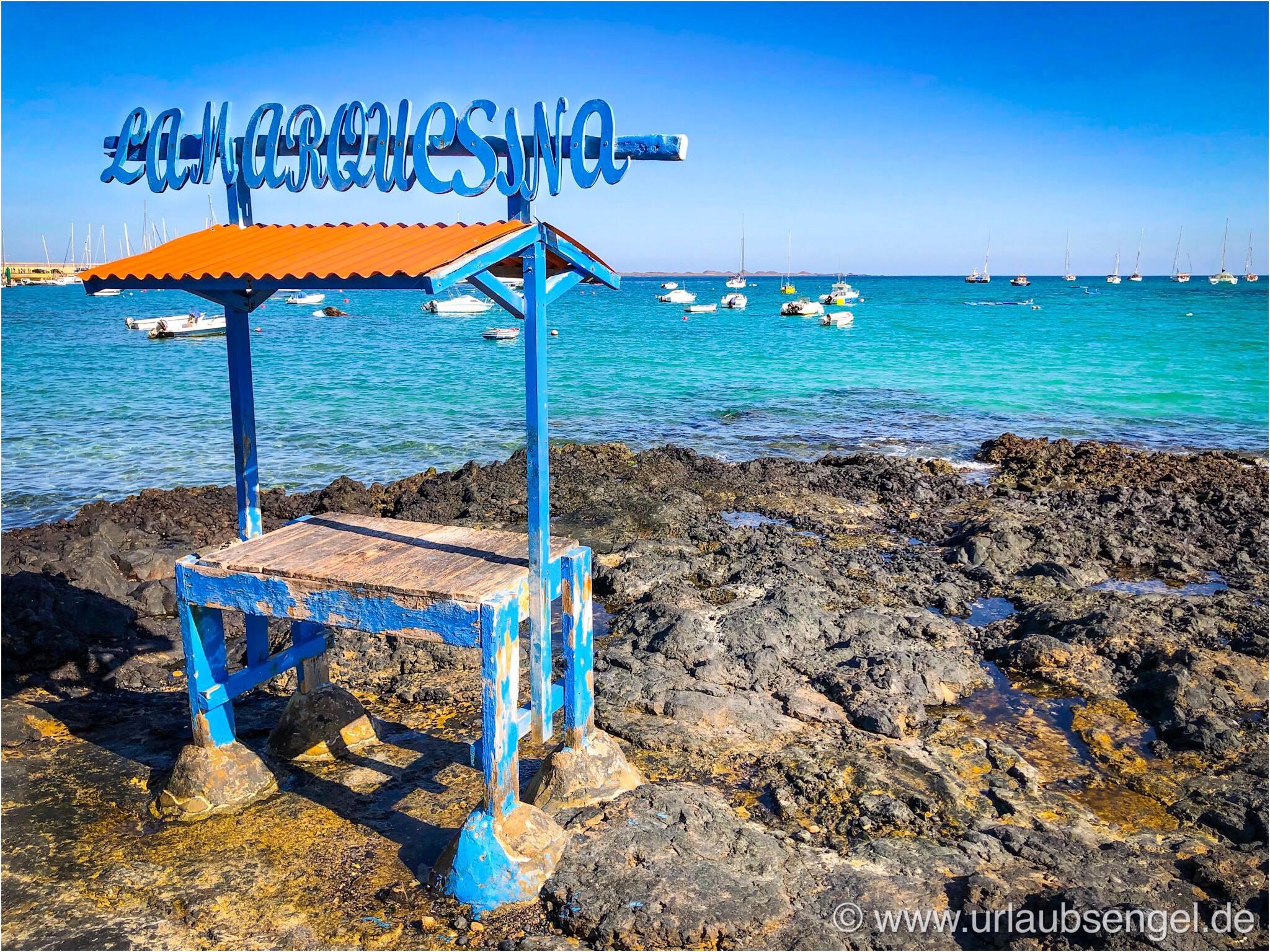 Fischstand in Corralejo, Fuerteventura