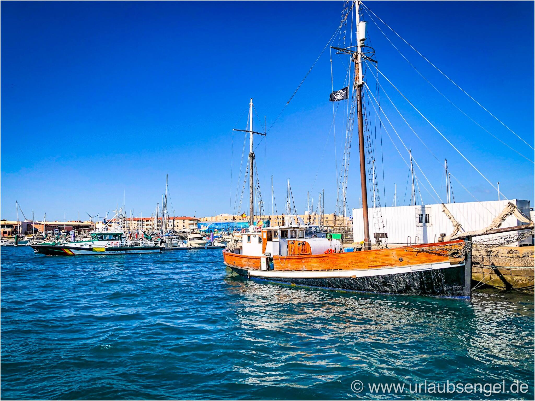 Hafen in Corralejo, Fuerteventura