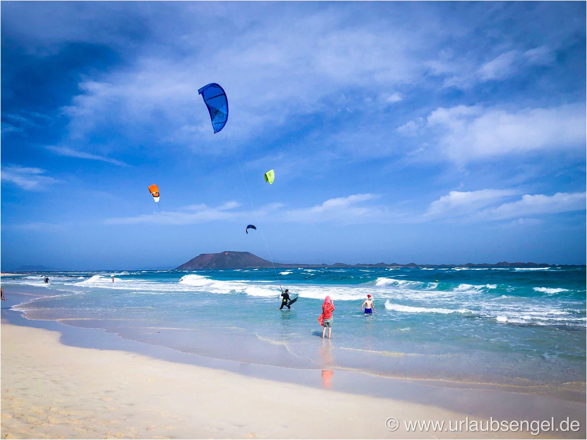 Am Strand von Corralejo, Fuerteventura