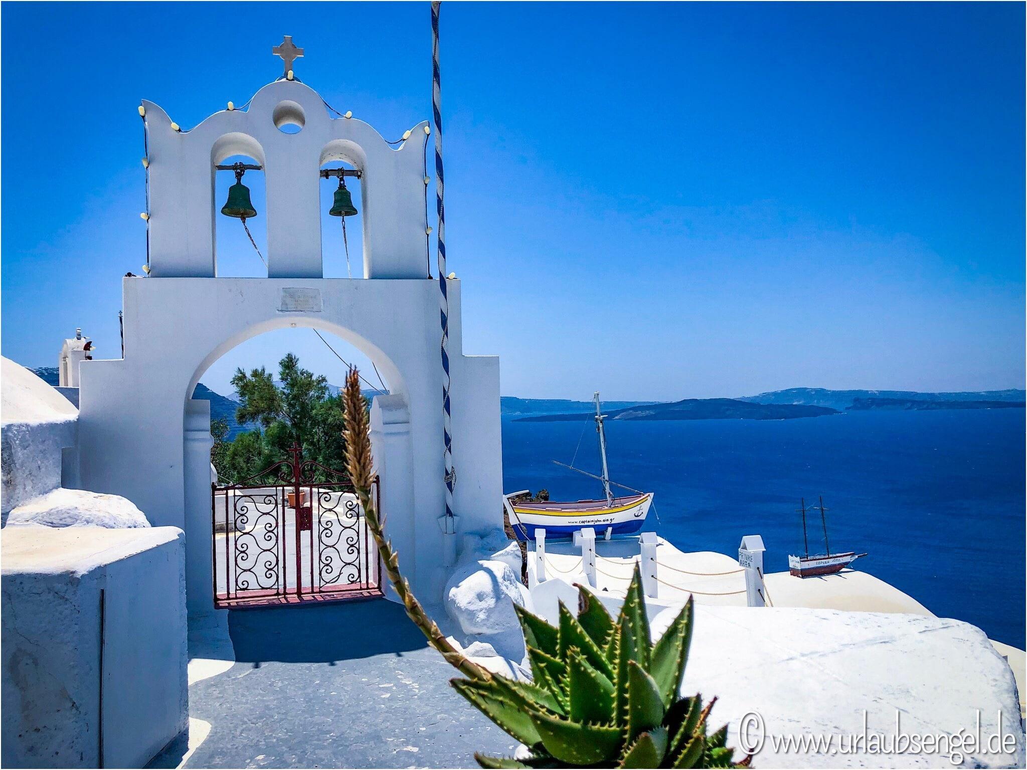 Wanderung von Fira nach Oia auf Santorin