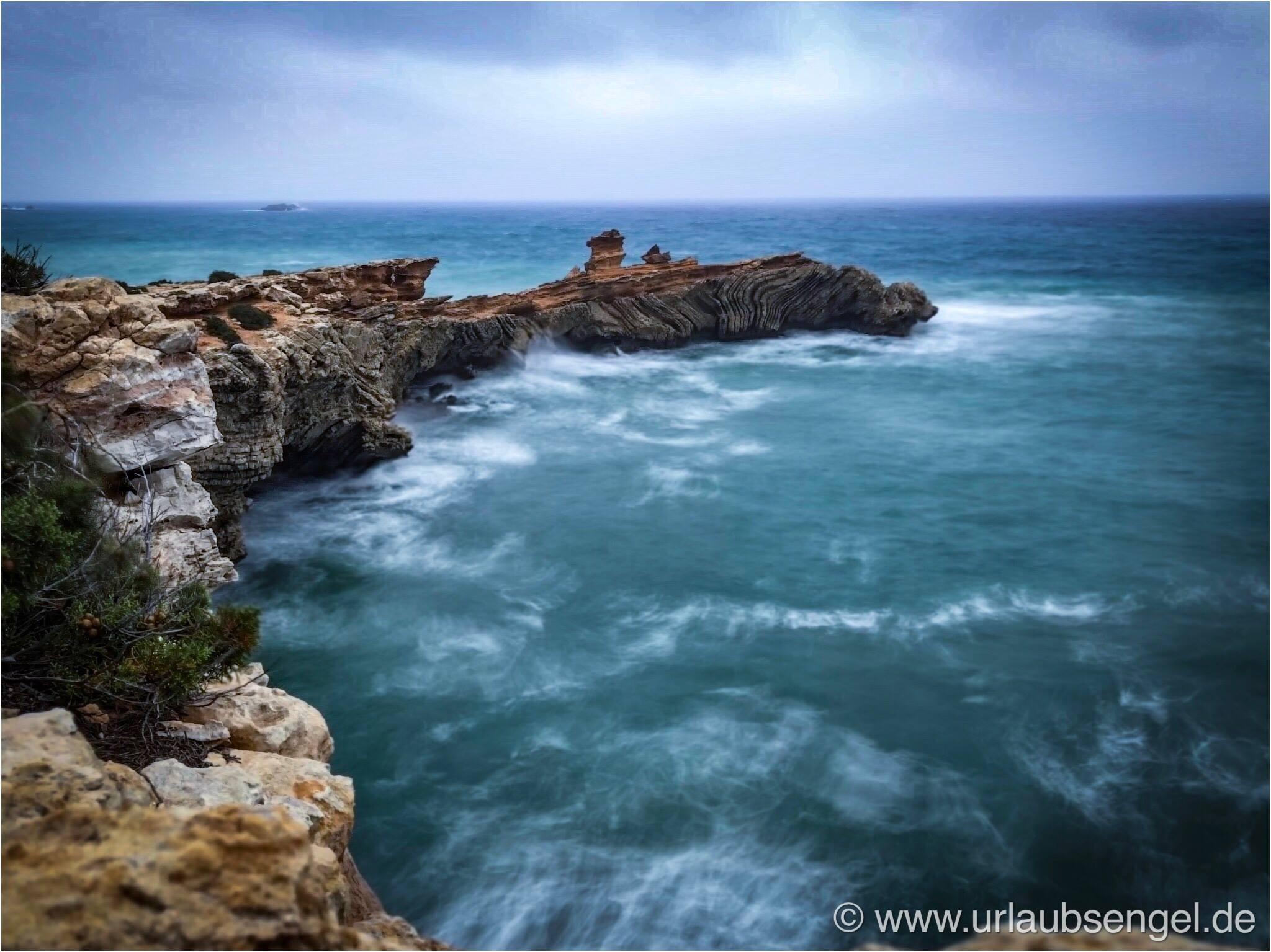 Schlechtes Wetter auf Ibiza