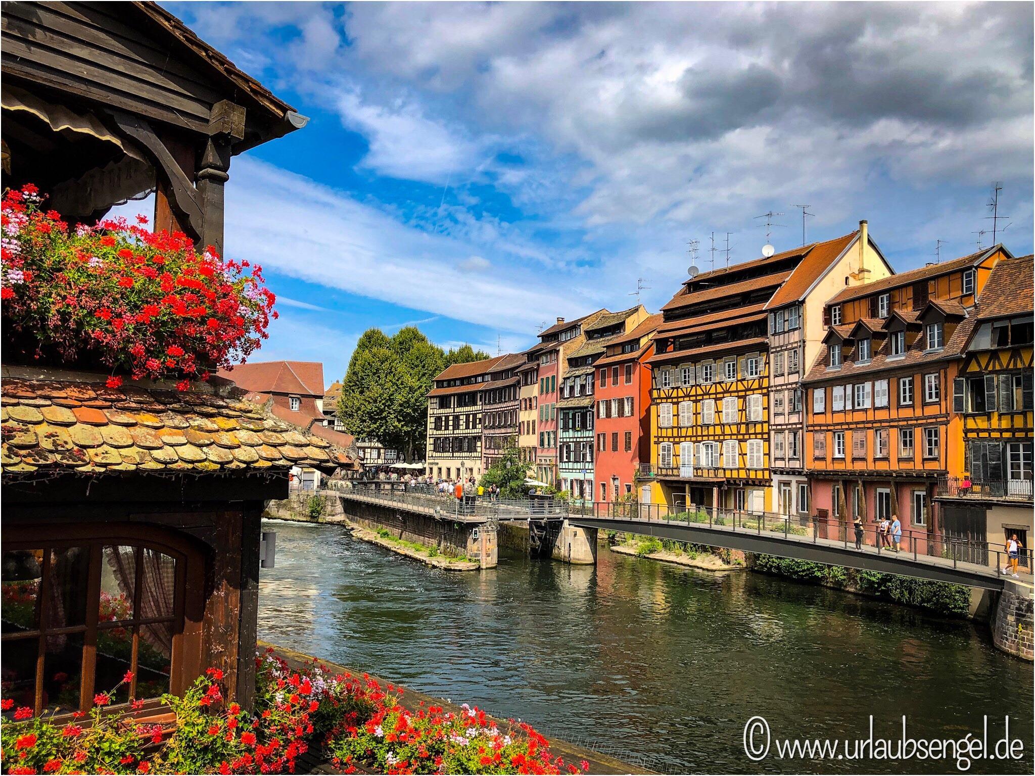 Altstadt Straßburg, Hauptstadt des Elsaß