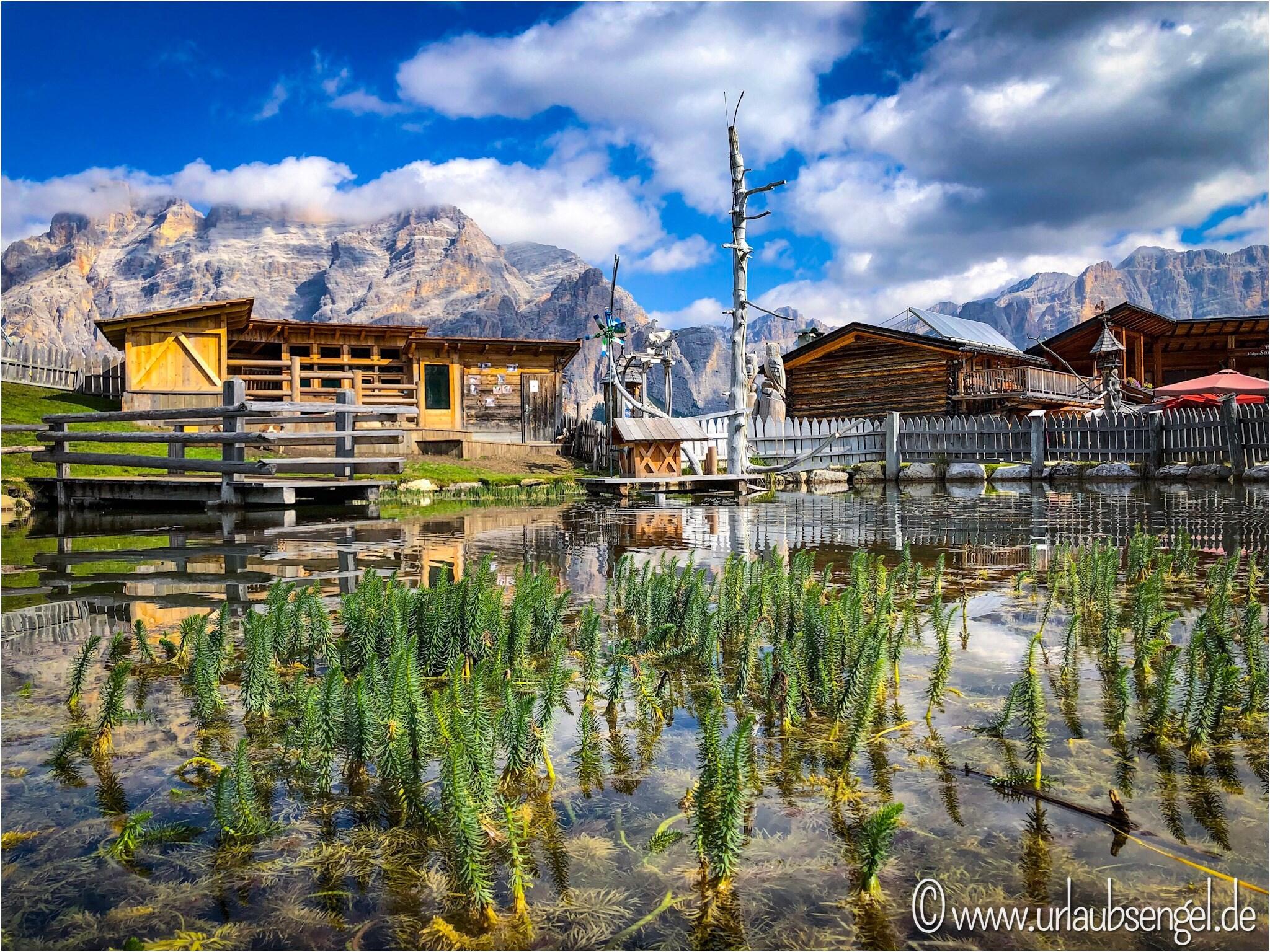Berghütte im Gadertal, Südtirol