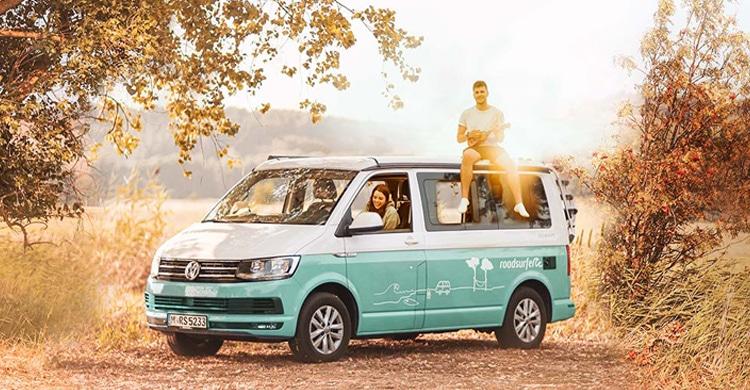 VW-Bus Urlaub - Urlaub im Campervan