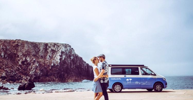 Mit dem Campingbus am Meer - Urlaub im Campervan