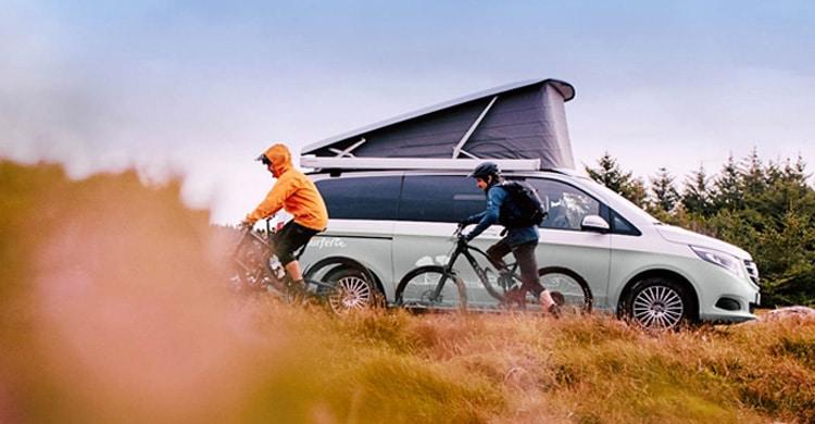 Mit dem Camper unterwegs - Urlaub im Campervan