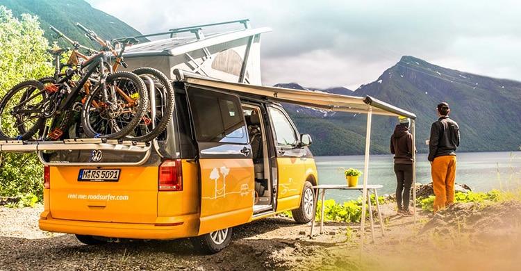 Campervan am See - Urlaub im Campervan