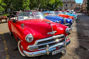 Oldtimer in Havanna - Traumurlaub Kuba