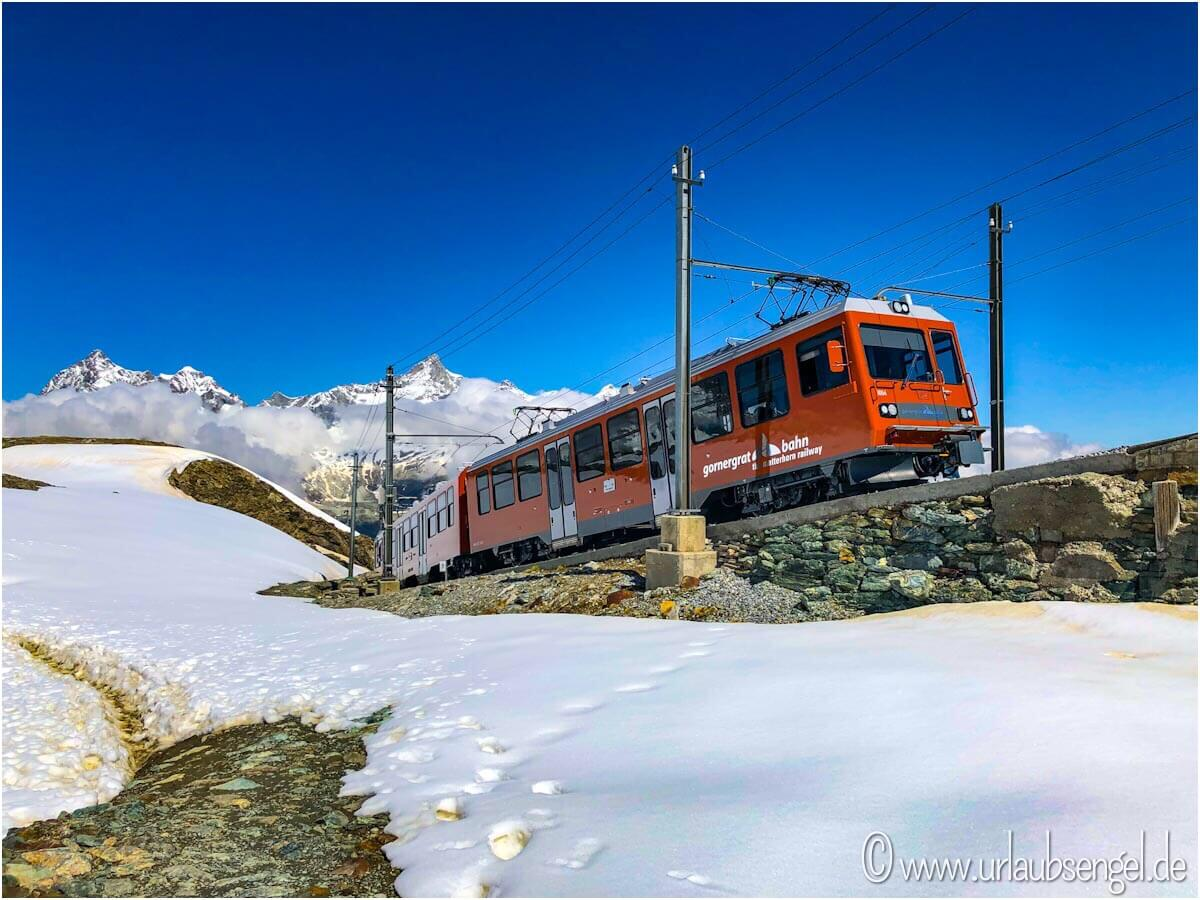 Gornergrat-Bahn, Matterhorn, Zermatt