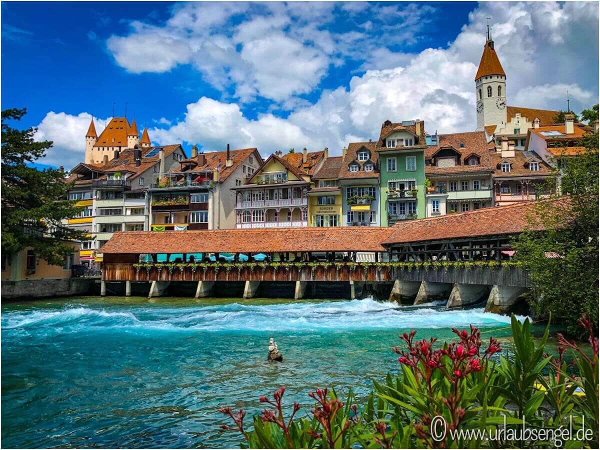 Altstadt von Thun am Thunersee, Schweiz