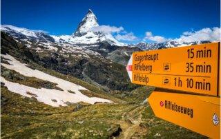 Blick auf das Matterhorn - Zermatt