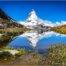 Das Matterhorn vom Riffelsee aus - Zermatt
