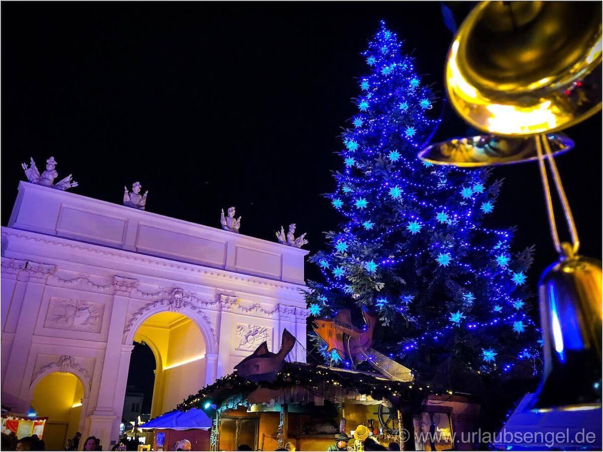 Brandenburger Tor Potsdam Weihnachtsmarkt