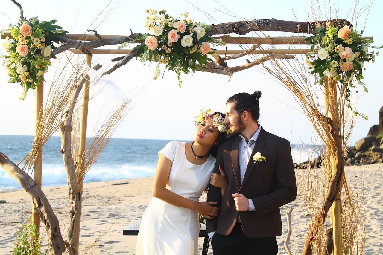 Hochzeit am Strand, Hochzeitsreise, Flitterwochen