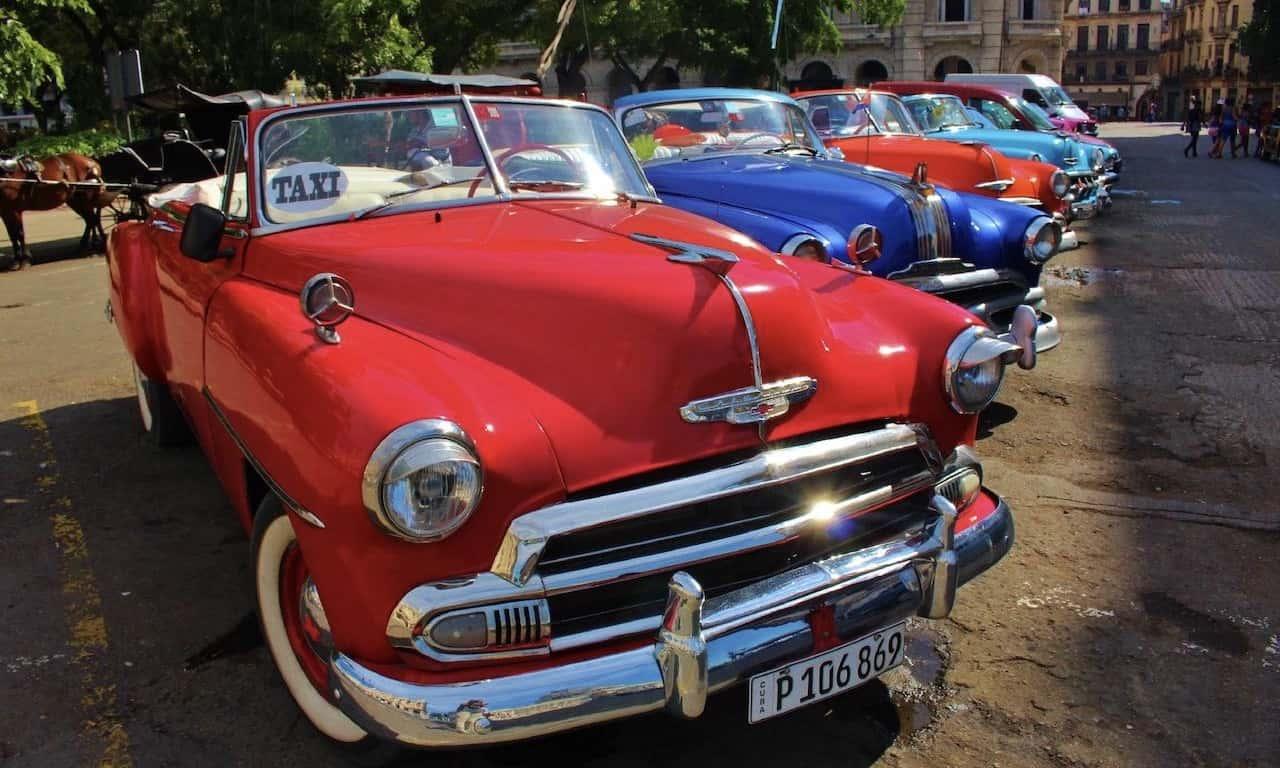Oldtimer in Havanna, Kuba - mit Urlaubsengel