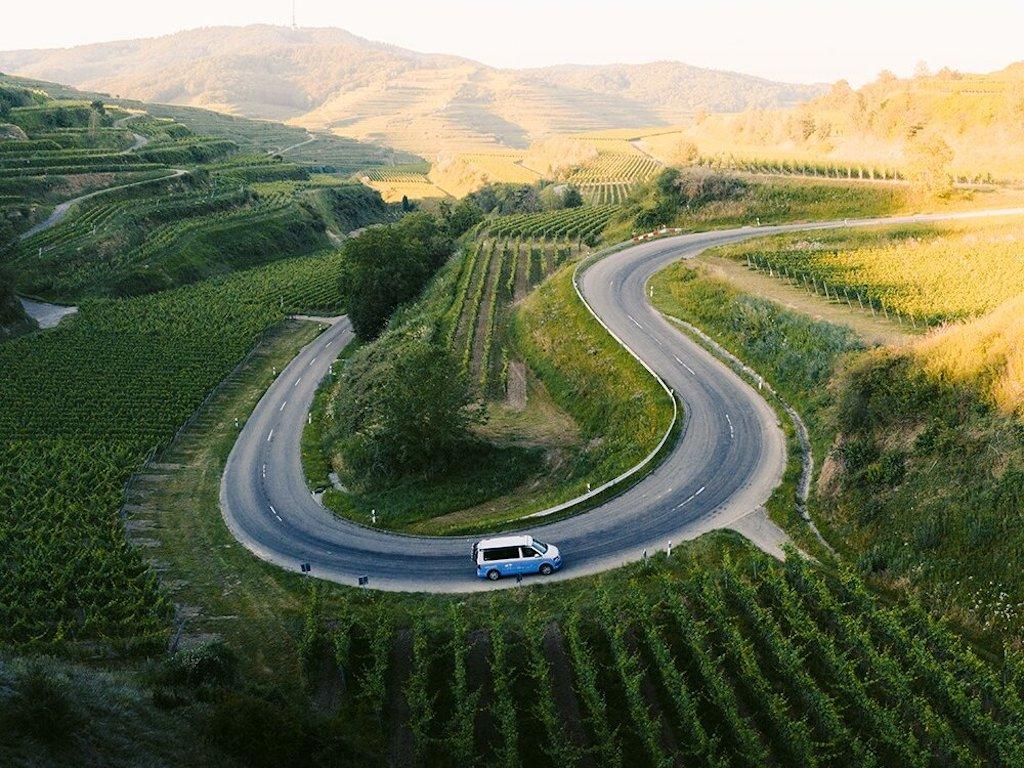 Autark im Roadsurfer Camoervan - Coronaurlaub