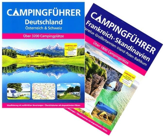 Roadsurfer Frühbucherangebot inkl. Reiseführer
