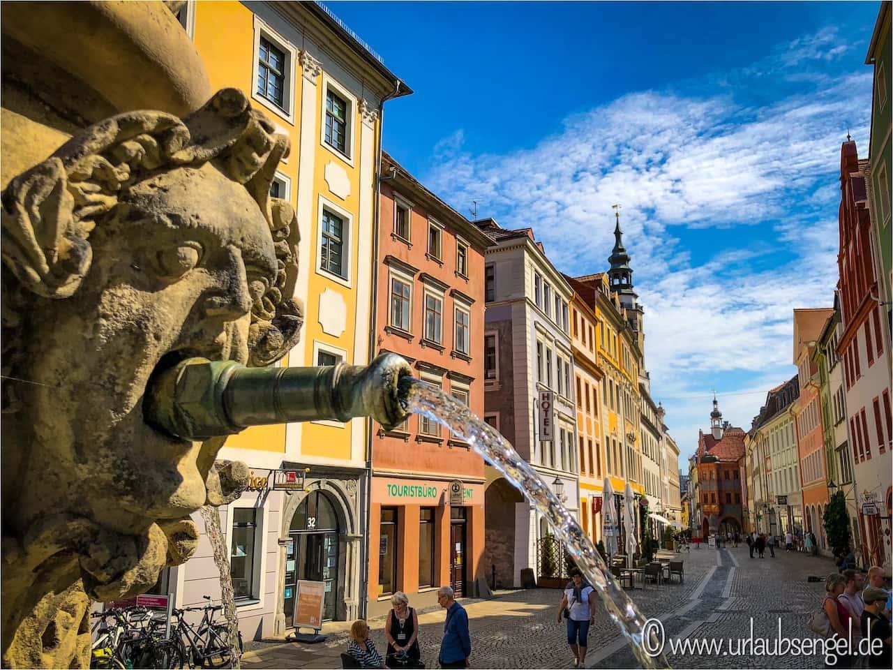 Brunnen in der Altstadt von Görlitz