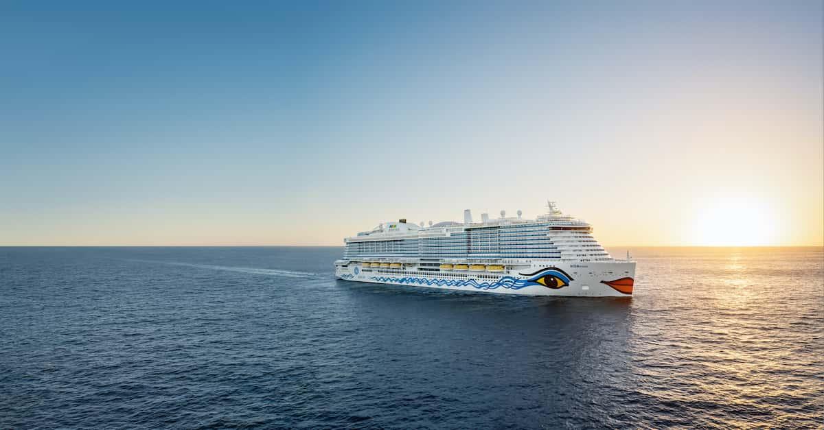 AIDAnova - Kreuzfahrtschiff mit dem Umweltzeichen Blauer Engel