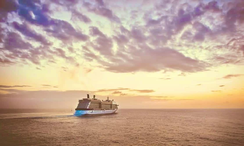 Kreuzfahrt in den Sonnenuntergang mit Urlaubsengel