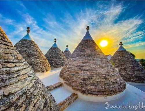 Alberobello in Apulien und die Trulli