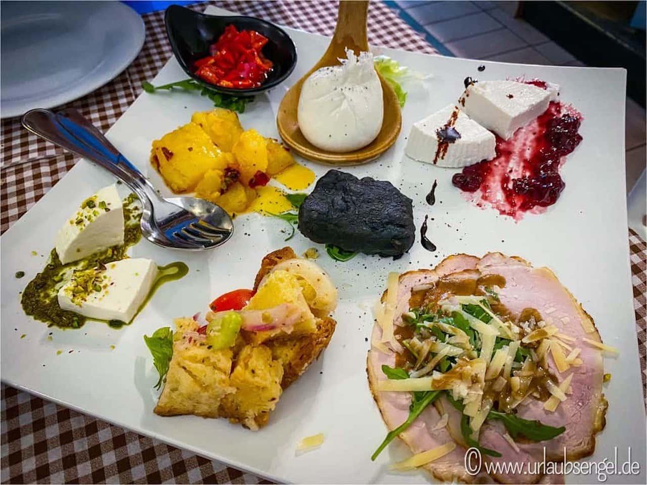 Kulinarische Highlights in der Osteria la Pignata