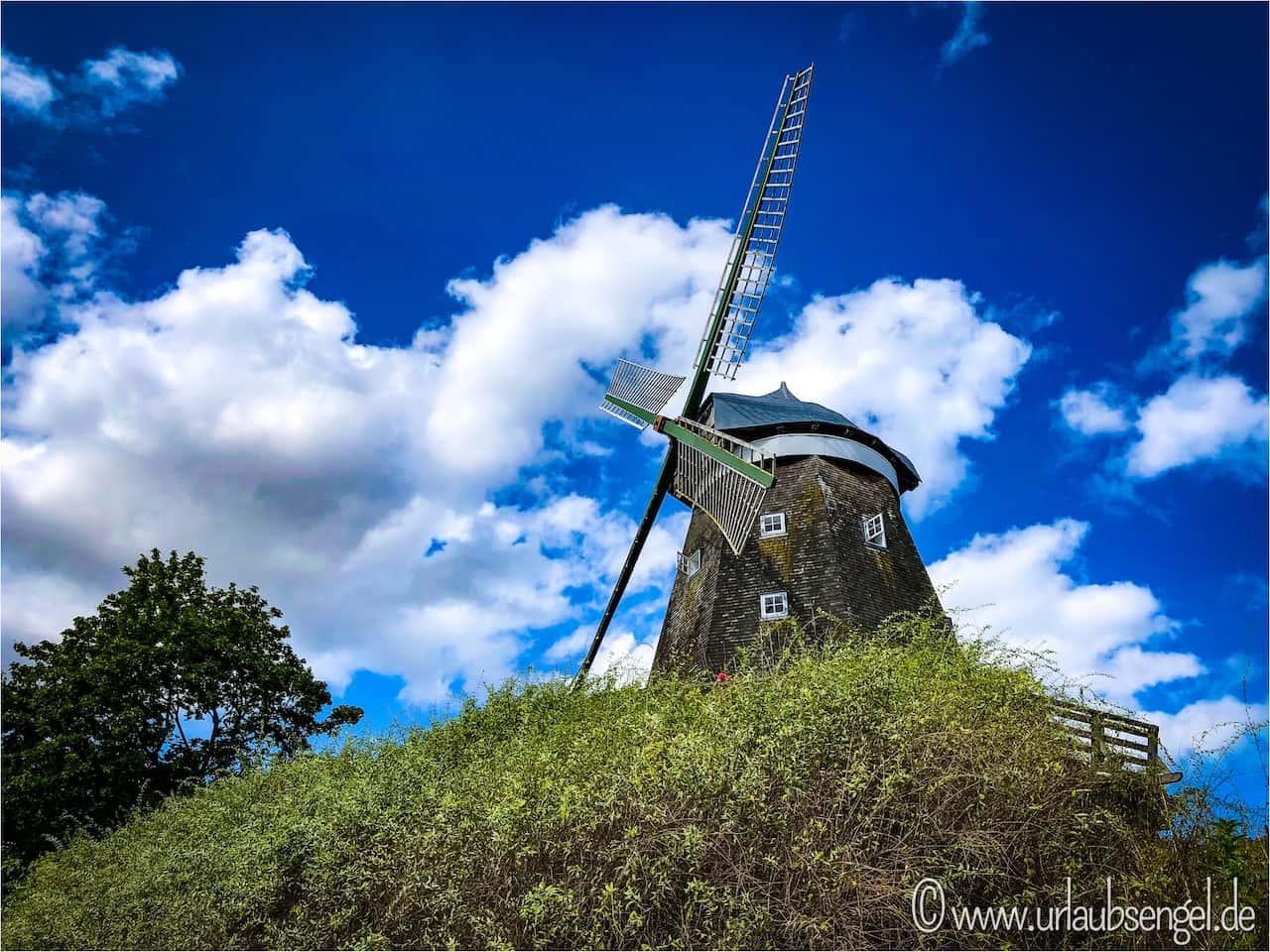 Windmühle in Röbel an der Müritz, Mecklenburgische Seenplatte