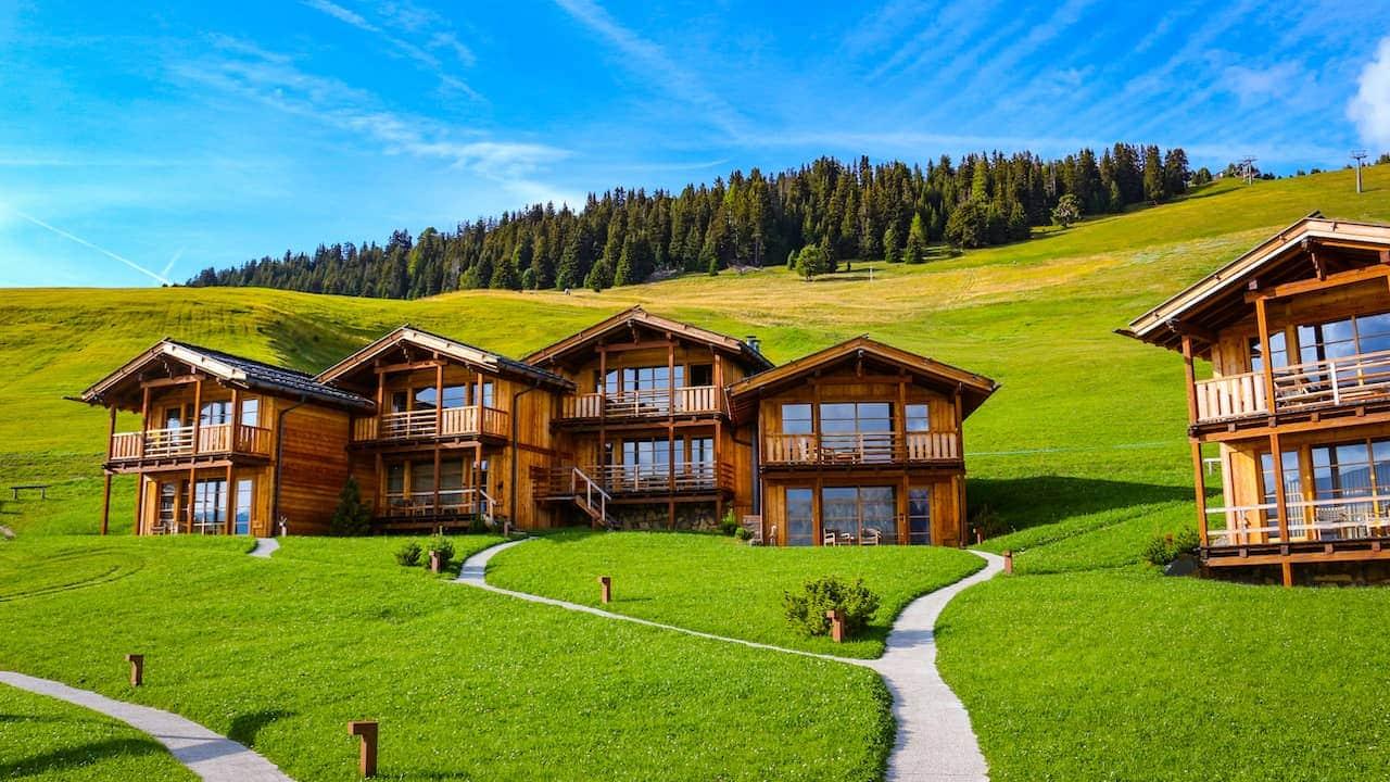 Ferienhaus in den Bergen mieten