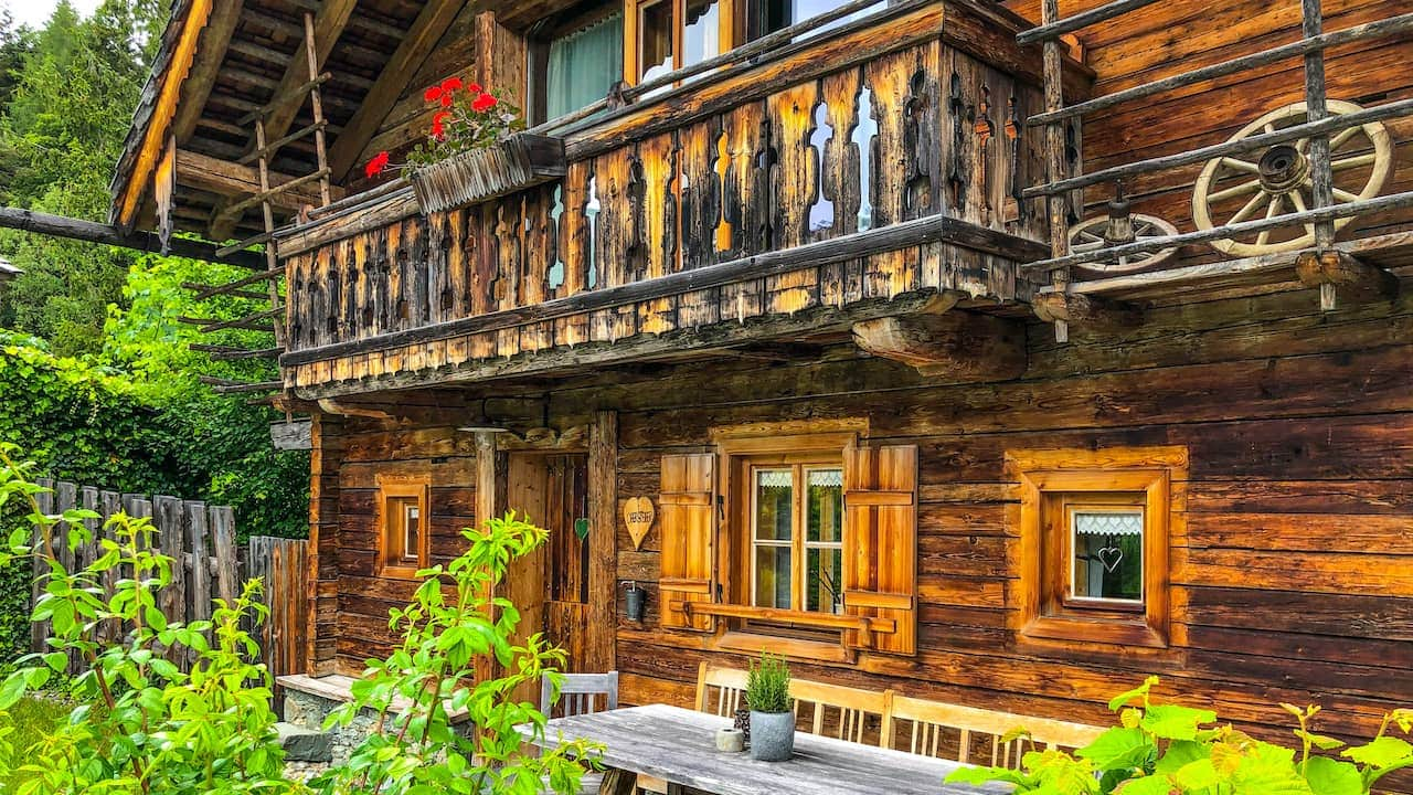 Hütte in den Bergen mieten