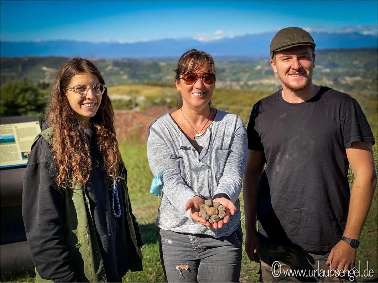 Auf der Suche nach Trüffel im Piemont
