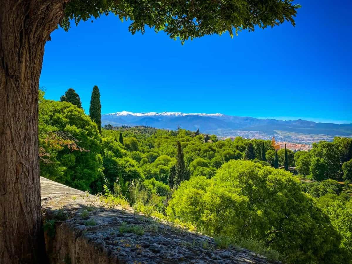 Ausblick auf die Sierra Nevada