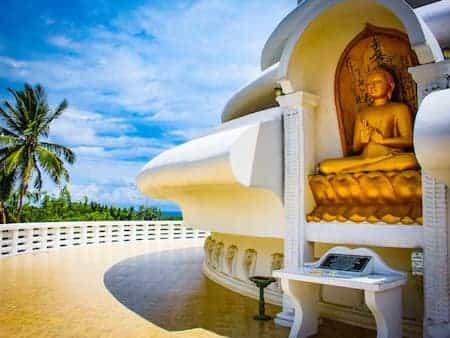 Buddha auf Sri Lanka | Urlaubsengel Reisebüro in Weinheim
