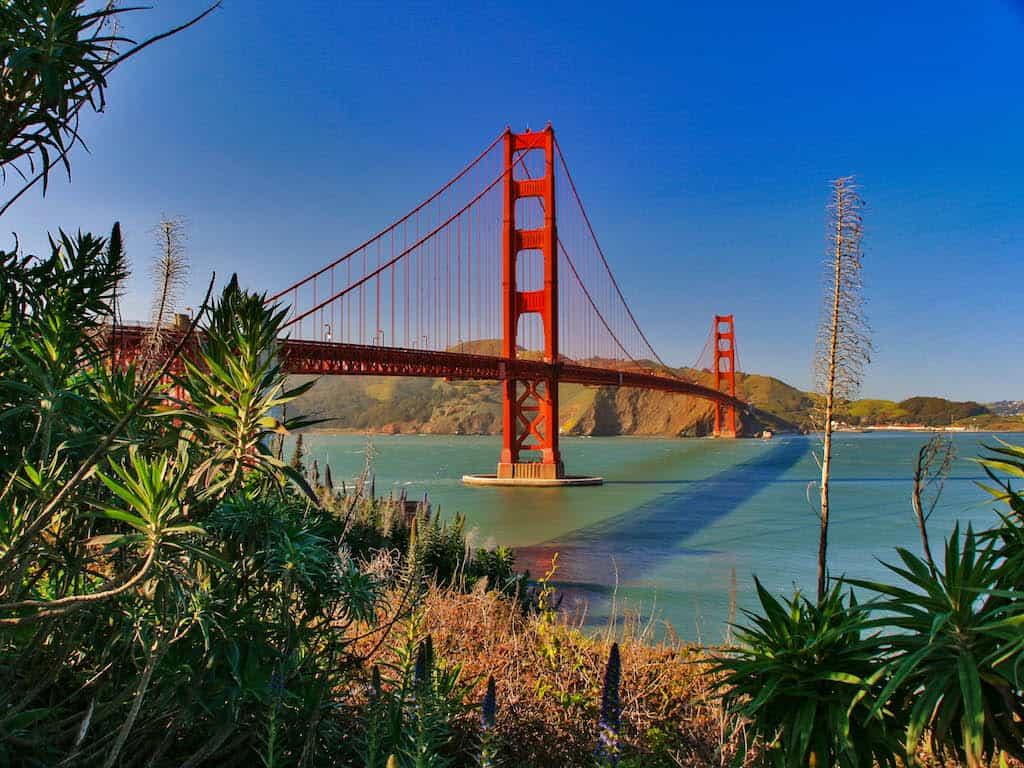 Golden Gate Bridge in San Francisco | Traumurlaub USA mit Urlaubsengel